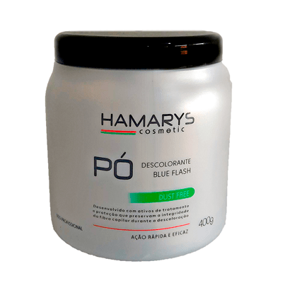 Pó Descolorante Hamarys Cosmetic Blue Flash – 400g
