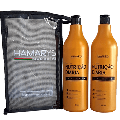 Kit Home Care Hamarys – Shampoo e Máscara – 1 Litro